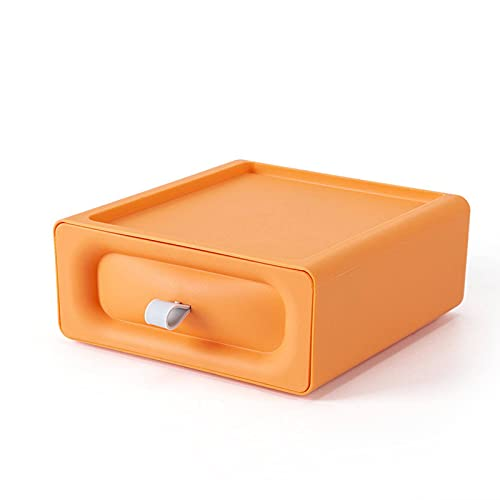 N\C Caja de Almacenamiento de Escritorio Tipo cajón Caja de Almacenamiento Caja de Almacenamiento de Escritorio de Oficina Multifuncional Caja de Almacenamiento Organizador
