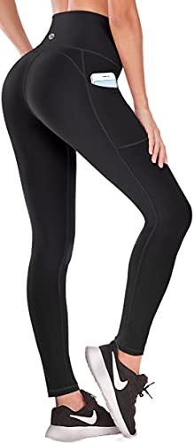 Lift Leggings with Pockets for Women High Waisted Yoga Pants for Women Workout Capri Leggings for Women