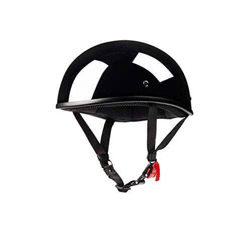 Casco de la Motocicleta Helm Helm Casco Retro Scooter Chopper Motocrosshelme (Color: 1, Tamaño: M), Tamaño: Medio, Color: 1 (Color: 2) LIUM (Color : 2)