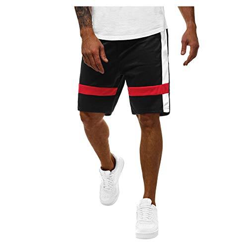 2021 Nuevo Pantalones cortos Hombre Verano Casual Moda Deporte Running Jogging Original Pants Patchwork Cortos Pantalon Fitness Gym Suelto Ropa de hombre Pantalones de playa shorts Cordón