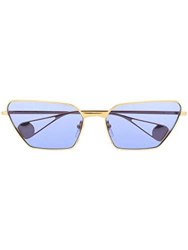 Gucci Luxury Fashion GG0538S006 - Gafas de sol de metal para mujer