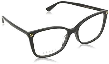 Eyeglasses Gucci GG 0026 O- 001 BLACK / 53-17-140
