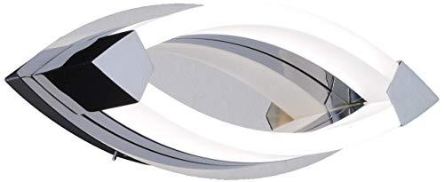 WOFI Wandleuchte, 1-flammig, Serie Vannes, 1 x, 8.5 W, Breite 11.5 cm, Höhe 11.5 cm, Tiefe 32 cm, Ke