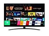 LG 55NANO867NA, 4K/UHD, LED, Smart TV, 139 cm [55 Zoll] mit a7 4K Prozessor, NanoCell-Technologie und Dolby Vision und Dolby Atmos - Schwarz