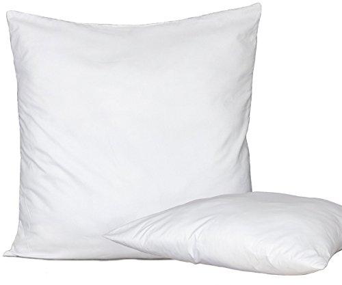 Bed Store Set 4 Pezzi Anima Imbottitura anallergica per Cuscini Divano, Poltrona, Letto da Rivestire in Quattro Misure (45 X 45)