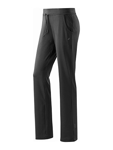 Joy Sportswear Hose NELA Damen   Sport- und Freizeithose  Bewegungsfreiheit   ideal für Gym und Fitness   Kurzgröße, 22, Black