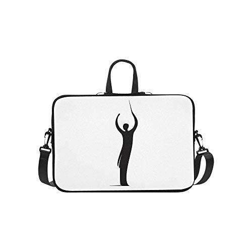 Laptop Bag Cute Chorus Commander Shoulder Bag Crossbody Bag Convenient for Men Women Business Personnel Boy Business Travelling Commercial Affairs University