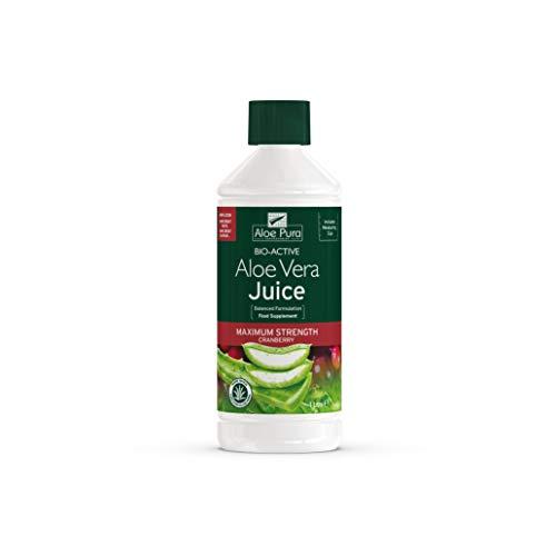 Pura Aloe Aloe Vera Cranberry Juice Max Stärke 1ltr