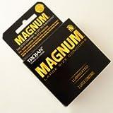 Trojan Black Magnum Lubricated Condoms 1pX3c