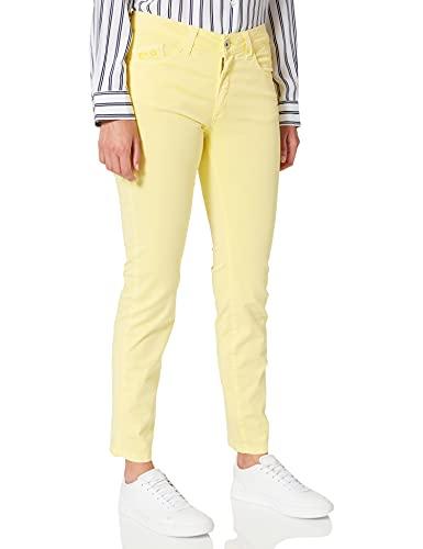 Pantalones amarillos de mujer modelo skinny