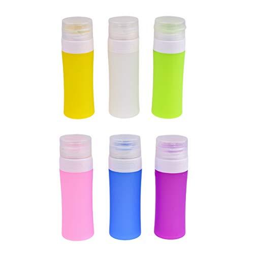 Lussore silicone vide maquillage sous-emballage bouteilles étanche bouteille ensemble portable cosmétiques distributeurs bouteille