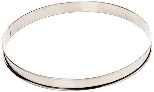 Gobel 834992 Cercle à Tarte Haut Inox Bords Roulés 30 cm