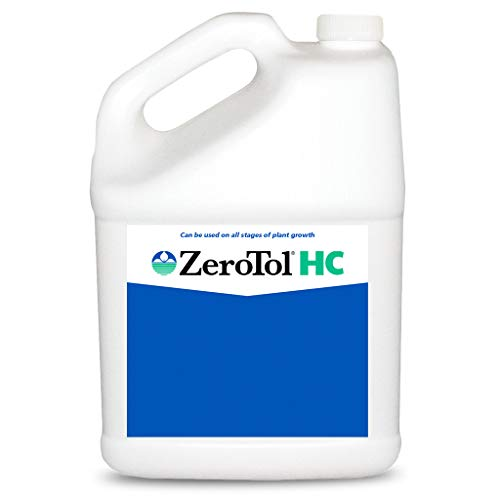 BioSafe ZeroTol HC Organic Disease Control Kills Mold and Mildew On Contact for All Plants, Fruits, Vegetables, Use Till Day of Harvest, One Gallon