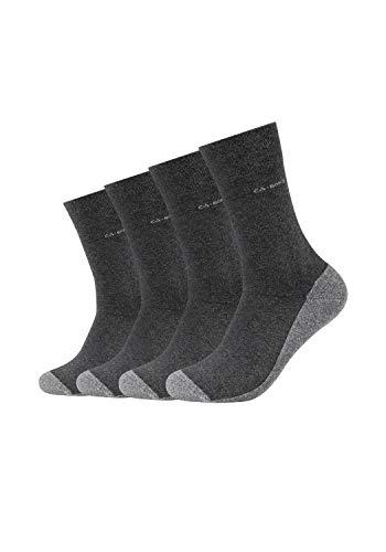 Camano Herren 3652000 Socken, Grau (Anthracite 0008), 43/46 (4er Pack)