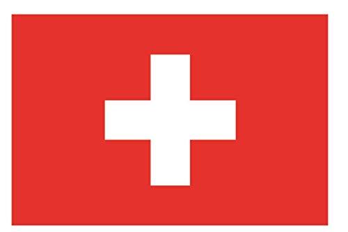 U24 Fahne Flagge Schweiz Bootsflagge Premiumqualität 40 x 60 cm