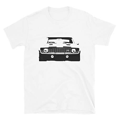 Vintage Camaro Z28 Front Grille Short-Sleeve T-Shirt