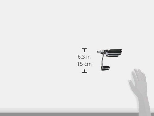 Kuryakyn 4428 Motorcycle Footpegs: Pilot Pegs with Stirrups, Chrome, 1 Pair
