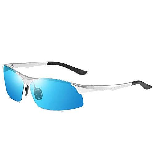 U/A Aluminium Magnesium Tag und Nacht Dual-Use Nachtsicht polarisierte Fahrsportbrille