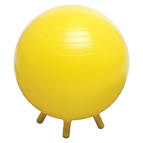 Champion Barbell Stability Ball with Feet, 65cm