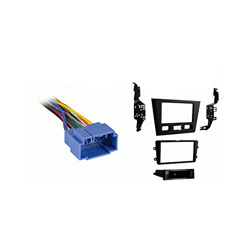 Compatible with Acura RL 1999 2000 2001 2002 2003 2004 without OE NAV Aftermarket Stereo Harness Radio Install Dash Kit