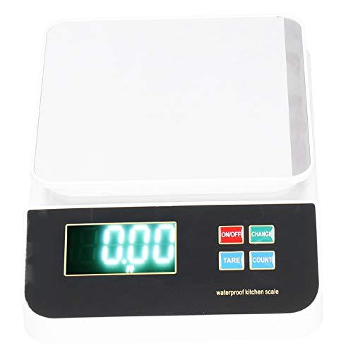 Balance numérique à économie d'espace de haute précision Balance de cuisine Balance de cuisson Balance électronique portable résistante à la rouille Outil de mesure du poids
