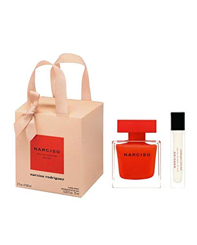 Narciso Rodriguez Rouge Eau De Parfum Spray 90ml Set 2 Pieces 2020