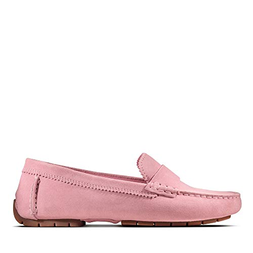Clarks Damen C Mocc Mokassin, Pink (Pink Suede Pink Suede), 39 EU