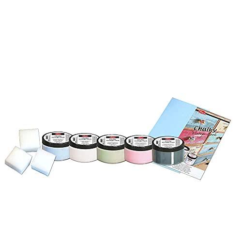 NEU Chalky-Kreidefarbe Einsteiger-Set