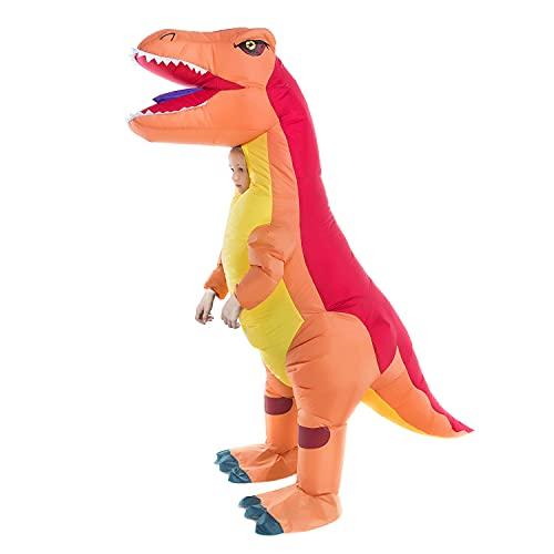 Inflatable Dinosaur Costume Kids Boys Girls, Inflatable Blow Up Trex Dinosaur Costume Child,...