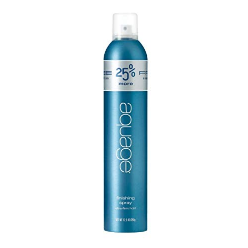 AQUAGE Finishing Spray 12.5 Oz HVOC - BONUS, Fast-Drying, Fine-Mist Hairspray that Layers to a Firm Hold, Delivers Humidity Resistance and Lasting Style