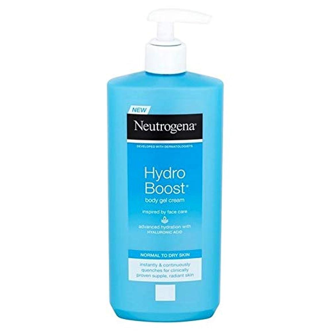 落ち着かないつまずくストライプ[Neutrogena ] ニュートロジーナ水力発電は、ボディジェルクリーム400ミリリットルを後押し - Neutrogena Hydro Boost Body Gel Cream 400ml [並行輸入品]