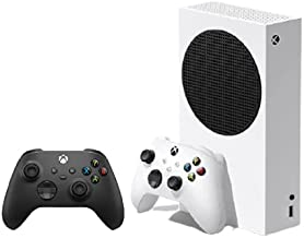 Xbox Series S Console with Wireless Black Controller (Digital console + 2 Controller)