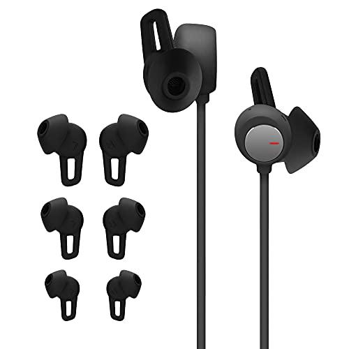 kwmobile 6X Polster kompatibel mit Huawei FreeLace Pro - 3 Größen - Silikon Ohrstöpsel In-Ear Kopfhörer