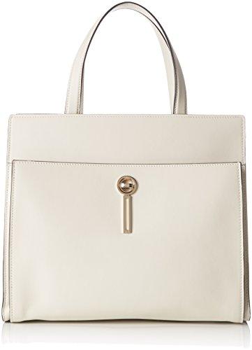 Escada- Ab705, Bolsos totes Mujer Blanco (Off-white) 13x27x33 cm (B x H...