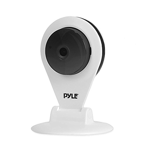 HD 720p IP Cam/WiFi Camera, Wireless Remote Surveillance Monitoring, Built-in Speaker & Microphone for 2-Way Communication, Downloadable App (White)