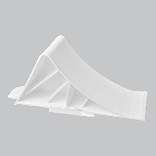 Cale en plastique avec support ProPlus 341346 - Pour remorque - Blanc.