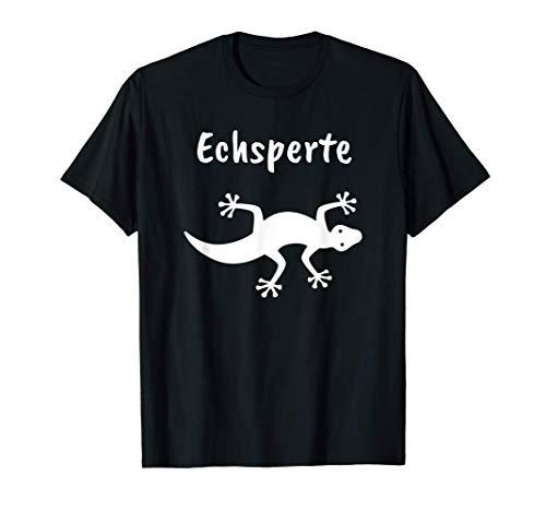 Echsperte Echspertin, Echse, Eidechse, Gecko, Reptilien T-Shirt