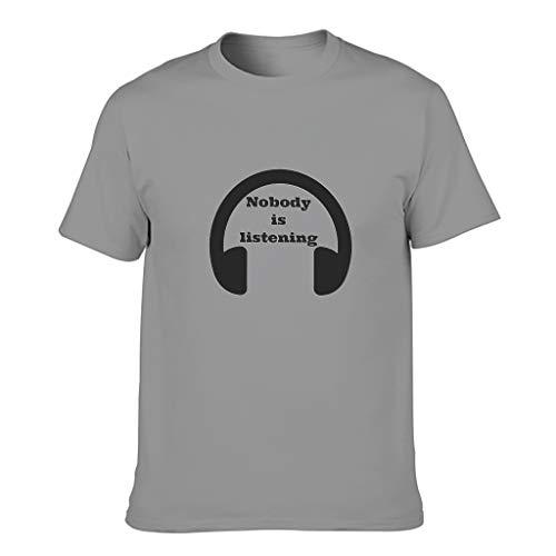 FFanClassic Camiseta de algodón para hombre, diseño de letras del alfabeto