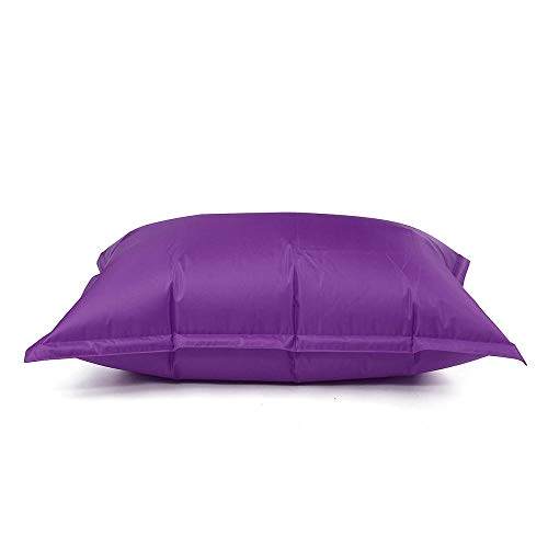 QIROG 6 Farben Sitzsackbezug Single No Filler Sitzsack Sofastuhl Wasserdicht Magic Bag Schonbezug Sitzsack Innenbettbezug Puff Lounge-lila