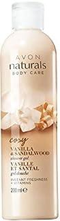 Avon Naturals Vanilla And Sandalwood Shower Gel