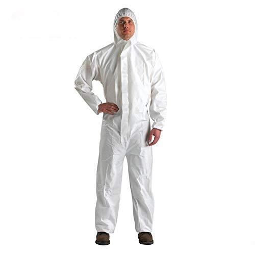 FJLR beschermend pak voor kostuum, antistatisch, wegwerpoverall, met capuchon, stofdicht