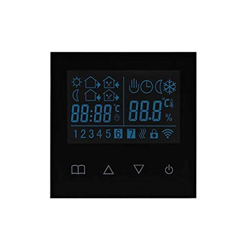 Elextric Heating Z-wave Plus Smart Thermostat Temperature Controller For Water/electric Floor Heating With Lcd Touch Screen
