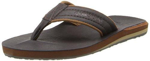 Quiksilver Damen Carver Nubuck Youth Sandale, Demitasse Solid