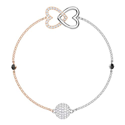 Swarovski Remix Collection Forever Strand, Bianco, Mix Di Placcature