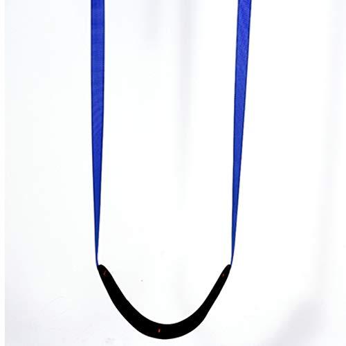 Columpio Poliéster Tejido Suave Swing para niños jardín al Aire Libre Silla Colgante de Interior, Ajustable y fácil de Transportar 70x15cm