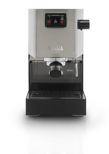Gaggia Classic, Acero inoxidable, 1425 W, 230 MB/s, 230 x 240 x ...