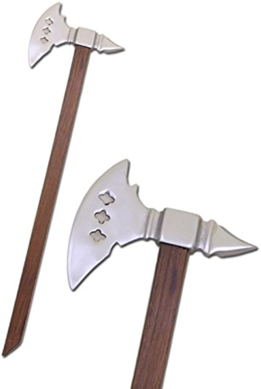 Schlachtaxt, ca. 1460 Kriegsaxt Kampfaxt Axt Axt Axt Beil LARP Ritter Wikinger Mittelalter Verkauf ab 18 Jahren B01LZSQ51G  Schönes Aussehen 1ae310