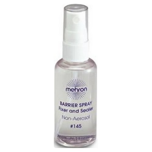 (3 Pack) mehron Barrier Spray Fixer and Sealer - Clear