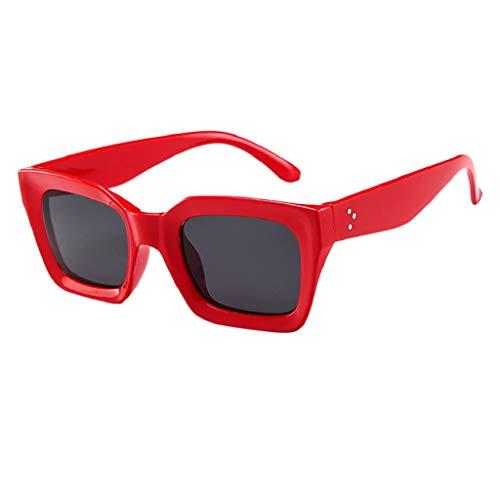 LUCKYCAT Gafas de Sol Vintage, Gafas de Sol Polarizadas Magnéticas, Gafas con...