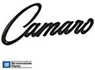 camaro script emblem